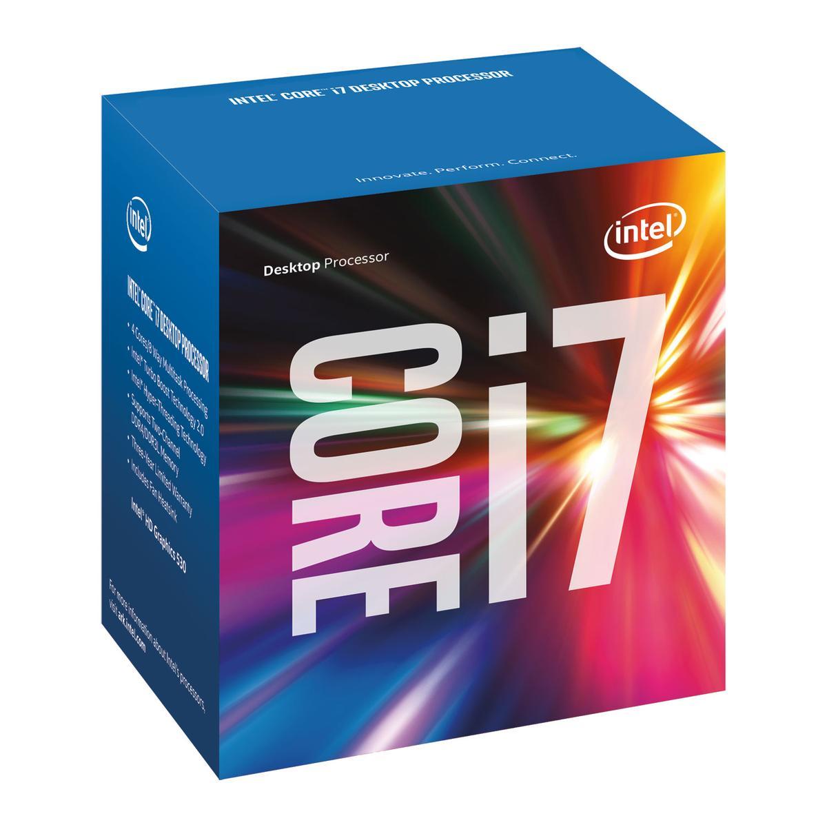 Intel Core i7-6700 3.4 GHz Quad-Core