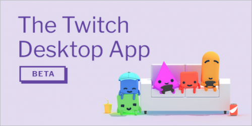 App desktop do Twitch anunciado