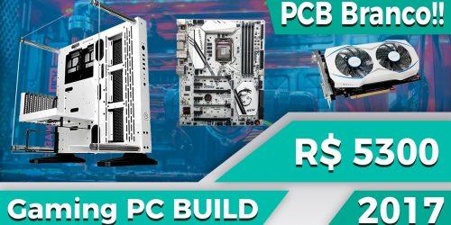 Montando uma PC build de R$ 5.000,00 com peças brancas — com Luigitec