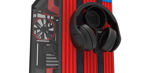 NZXT anuncia edição limitada do suporte para headphones no formato de frigideira do PUBG