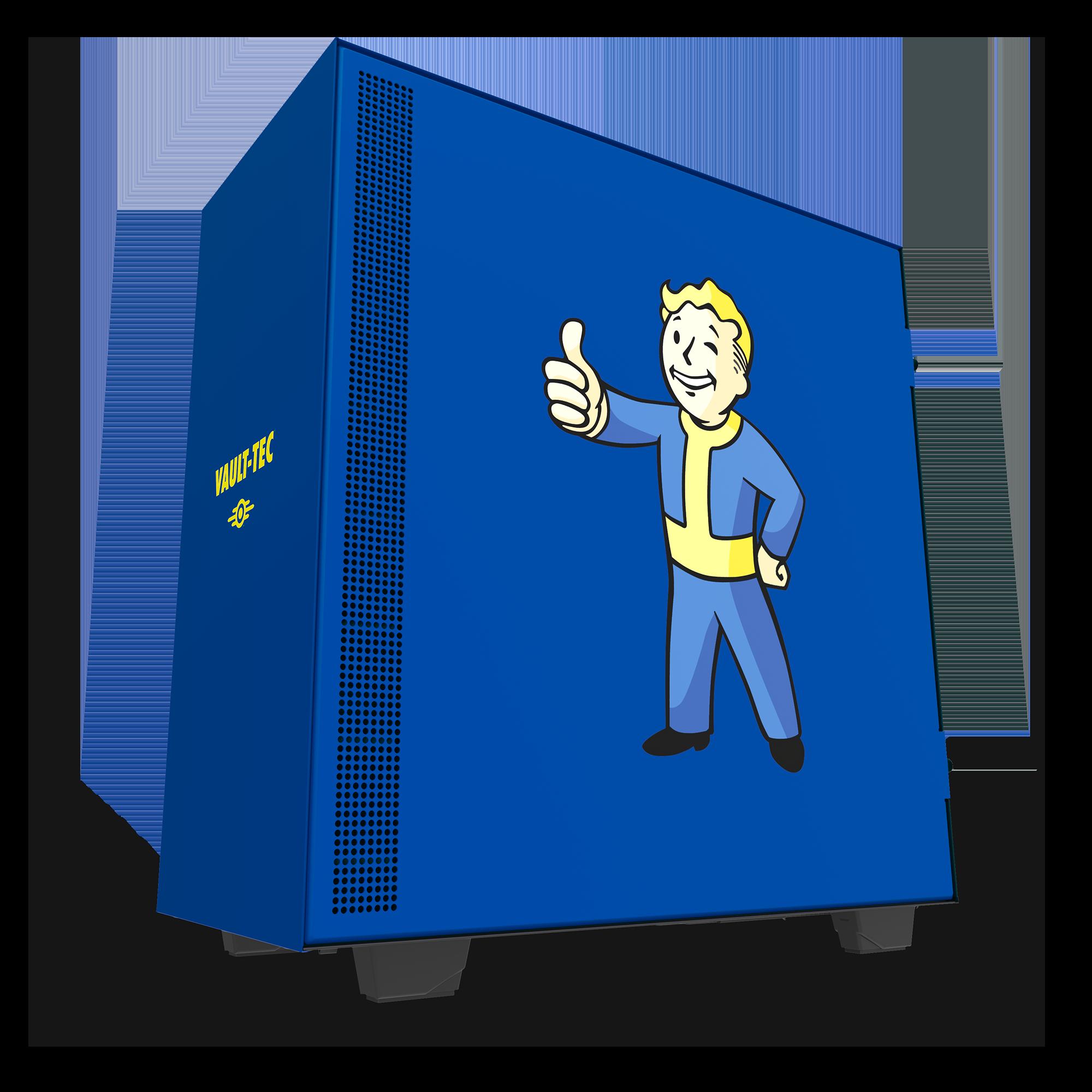 NZXT anuncia edição limitada do H500 Vault Boy para os fãs de Fallout