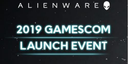 Novos produtos Alienware da Dell no Gamescom 2019