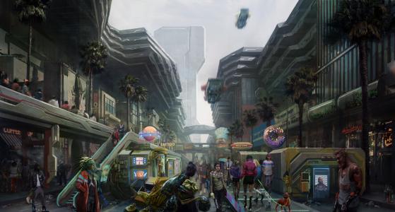 Cyberpunk 2077: novas imagens e detalhes de sistema de jogo