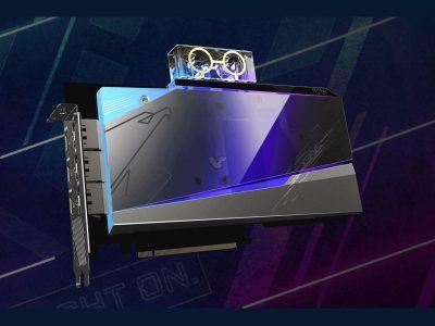 Gigabyte lança placas da série RTX 3080 e RTX 3090 com refrigeração líquida